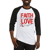 Oral Cancer Faith Baseball Jersey