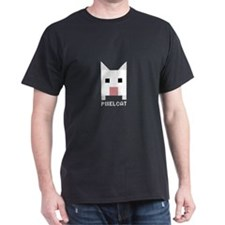 Pixelcat Black T-Shirt