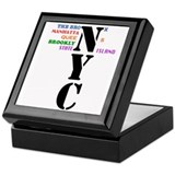 NYC Big Apple All-Stars Keepsake Box