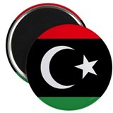 "Libya Rebel Flag 2.25"" Magnet (10 pack)"