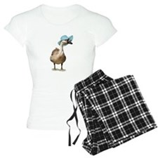 Blue Hat Goose by Gravityx9 Pajamas