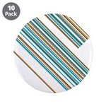 "Retro Stripe 3.5"" Button (10 Pk)"