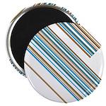 "Retro Stripe 2.25"" Magnet (100 Pk)"