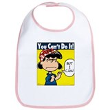Lucy the Riveter Bib