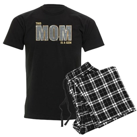 This Mom's a Gem Men's Dark Pajamas