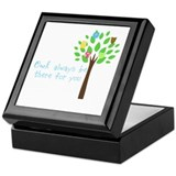 Owl always be there for you Keepsake Box