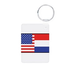 USA/Holland Keychains