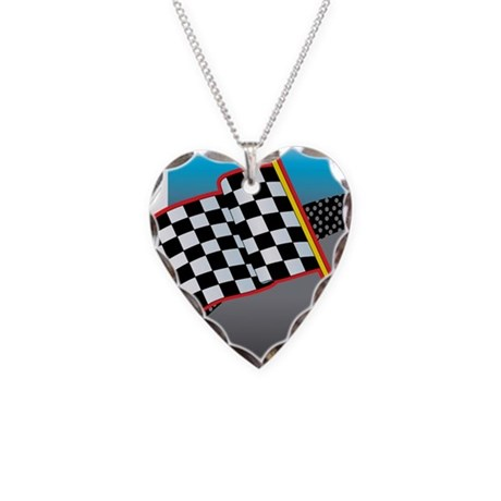 Auto Racing Jewelry on Auto Racing Gifts   Auto Racing Jewelry   Checkered Flag Necklace