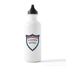 Pooper Patrol Water Bottle