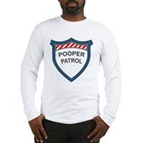Pooper Patrol Long Sleeve T-Shirt