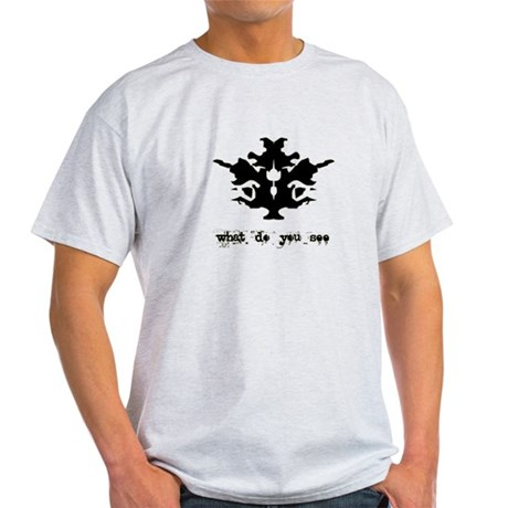 Ink Blot Test Light T-Shirt