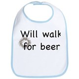Walk for beer Bib