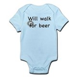 Walk for beer Onesie