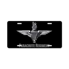 Parachute Regiment License Plate