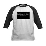 Knitting is Life Tee
