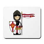 Cute Little Medieval Knight Mousepad