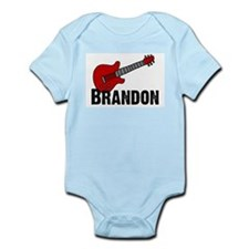 Guitar - Brandon Infant Creeper