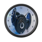 Weightlifting Large Wall Clock