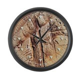 Stone Wall Large Wall Clock