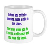 A Mile In Their Shoes Mug