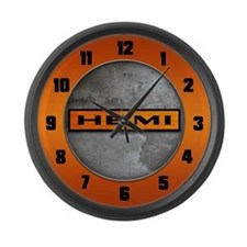 HEMI Large Wall Clock