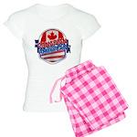 Canadian American Women's Light Pajamas