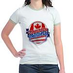 Canadian American Jr. Ringer T-Shirt