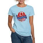 Canadian American Women's Light T-Shirt