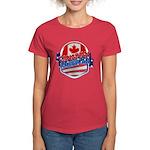 Canadian American Women's Dark T-Shirt