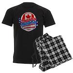 Canadian American Men's Dark Pajamas