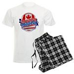 Canadian American Men's Light Pajamas