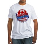 Canadian American Fitted T-Shirt
