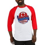 Canadian American Baseball Jersey