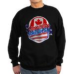 Canadian American Sweatshirt (dark)