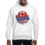Canadian American Hooded Sweatshirt