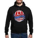 Canadian American Hoodie (dark)