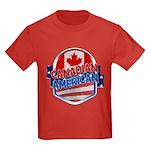 Canadian American Kids Dark T-Shirt