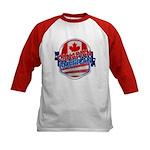 Canadian American Kids Baseball Jersey