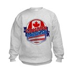 Canadian American Kids Sweatshirt
