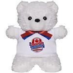 Canadian American Teddy Bear