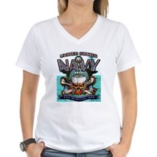 US Navy Skull and Bones Shirt
