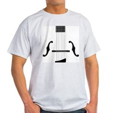 Archtop Guitar Ash Grey T-Shirt