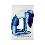 Yoga Paintings Rectangle Magnet