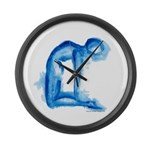 Yoga Paintings Wall Clock