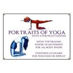 Yoga Paintings Banner