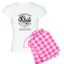Wonderland tea party pajamas