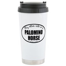 Palomino Horse Ceramic Travel Mug