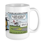 0522 - Runway ten Large Mug