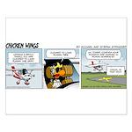 0522 - Runway ten Small Poster