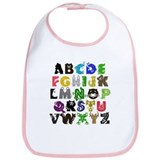 Animal ABCs Bib